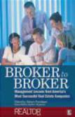 R Magazine - Broker to Broker Management Lessons