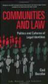 Gad Barzilai,G Barzilai - Communities & Law