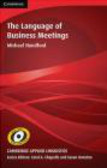 Michael Handford,M Handford - Language of Business Meetings
