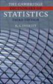 Brian Everitt,B Everitt - Cambridge Dictionary of Statistics
