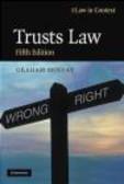 Gerry Bean,Rebecca Probert,Graham Moffat - Trusts Law