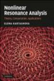Elena Kartashova,E Kartashova - Nonlinear Resonance Analysis