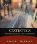 Gerald Keller,Brian Warrack - Statistics for Management & Economics with Infotrac