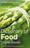 Sinclair - Dictionary of Food