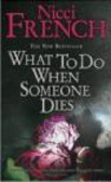 N French - What to Do When Someone Dies
