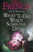F Nicci - What to Do When Someone Dies