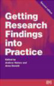 A. Donald,A. Haines - Getting Research Findings into Practice 2ed
