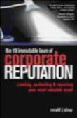 Ron Alsop - 18 Immutable Laws of Corporate Reputation