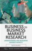 Ruth McNeil - Business to Business Marketing Research