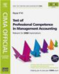 Heather Barnwell,H Barnwell - CIMA Official Test of Professional Competencce in Management