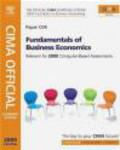 Paul Periton,Steve Adams,S Adams - CIMA Official Learning System Fundamentals of Business Econo