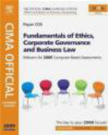 David Sagar,Kevin Bampton,Larry Mead - CIMA Official Learning System Fundamentals of Ethics Corporp