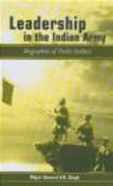V. K. Singh,V Singh - Leadership in the Indian Army