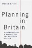 Andrew Gilg,A Gilg - Planning in Britain