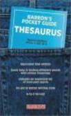 H. Bell,H Bell - Pocket Guide Thesaurus