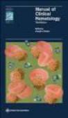 Joseph J. Mazza,J Mazza - Manual of Clinical Hematology