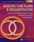 Lynda Juall Carpenito-Moyet - Nursing Care Plans Documentation