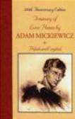 Krystyna Olszer,Adam Mickiewicz,A Mickiewicz - Treasury of Love Poems by Adam Mickiewicz