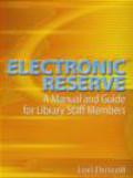 Lori Driscoll,L Driscoll - Electronic Reserve