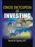 Darren Oglesby,D Oglesby - Concise Encyclopedia of Investing