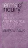 James Davis - Terms of Inquiry