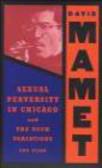 """David Mamet,D Mamet - Sexual Perversity in Chicago"""" & """"The Duck Variations"""""""