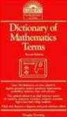 Douglas Downing,D Downing - Dictionary of Mathematics Terms