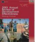 World Bank,William Battaile - 2001 Annual Review of Development Effectiveness