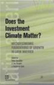 P Fajnzylber - Does the Investment Climate Matter