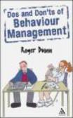 Roger Dunn - Dos & Don`ts Of Behaviour Management