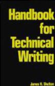 James H. Shelton,James Shelton - Handbook for Technical Writing