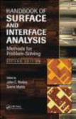 John C. Riviere - Handbook of Surface and Interface Analysis