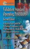 S Haider - Validation Standard Operating Procedures