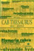 CAB Thesaurus v 1