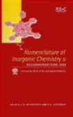 N Connelly - Nomenclature of Inorganic Chemistry II