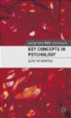 Julie Winstanley,J Winstanley - Key Concepts in Psychology