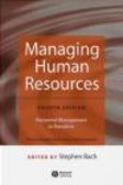 Bach - Managing Human Resources Personnel Management in Transition