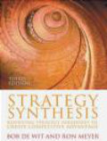 Ron Meyer,Bob De Wit,R Meyer - Strategy Synthesis 3e