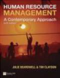 Julie Beardwell - Human Resource Management: A Contemporary Approach Plus MyManagementLab Student Access Card
