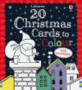Candice Whatmore - 20 Christmas Cards to Colour