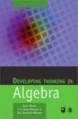 J Mason - Developing Thinking in Algebra