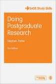 S Potter - Doing Postgraduate Research