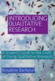 Rosaline Barbour,Rosaline S. Barbour - Introducing Qualitative Research