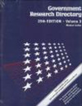 M Miskelly - Government Research Directory 3-vols
