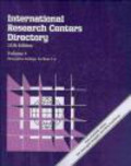 International Research Centers Directory Set 25e