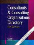 Consultants & Consulting Organizations Directory 7-vols