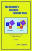 John Sparks,J Sparks - Student`s Essential Formula Book