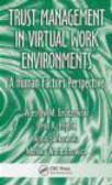 Monika Wantuchowicz,Anna Sankowska,Irena Hejduk - Trust Management in Virtual Work Environments