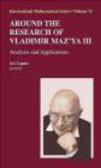 Tamara Rozhkovskaya - Around the Research of Vladimir Maz`ya III: Volume 3