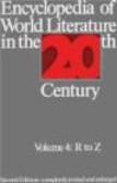 S Serafin - Encyclopedia of World Literature in 20th Century v4